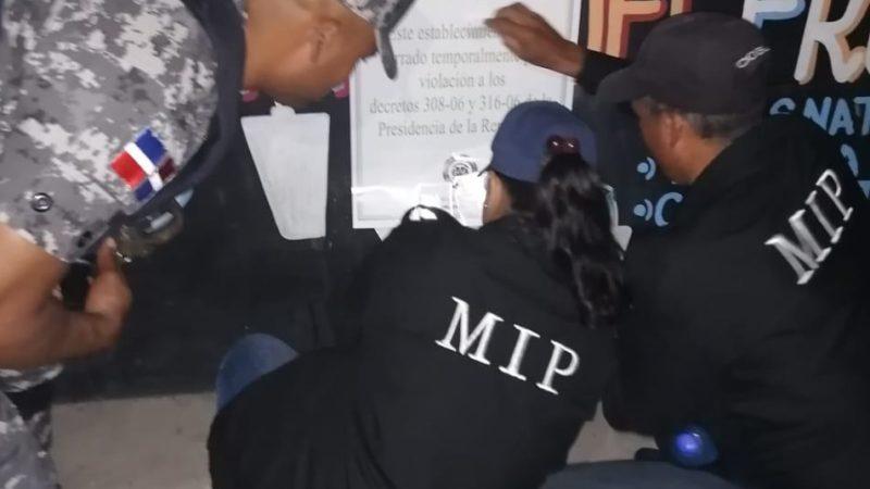 Interior y Policía sanciona negocios de bebidas alcohólicas por presencia de menores de edad