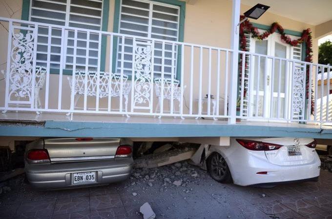 Un sismo de 6,6 vuelve a remecer Puerto Rico; reportan se sintió en RD .