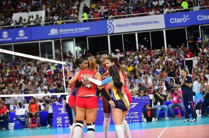 Las Reinas del Caribe ganan y tienen boleto a las Olimpiadas de Tokyo .