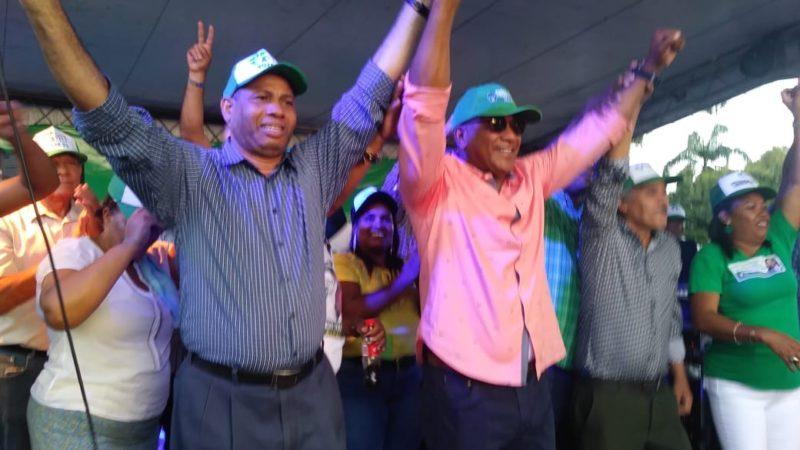 Trajano Santana llama a la militancia del PRI a votar masivamente en el próximo domingo en el territorio nacional