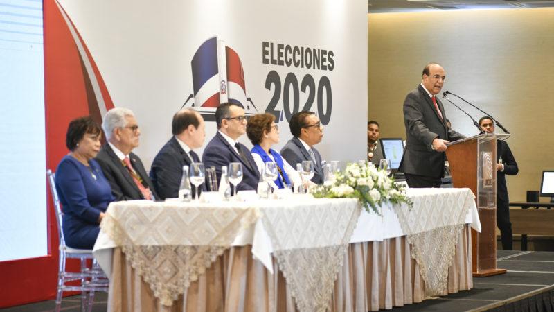 Pleno JCE realiza acto de inicio de trabajos de la Misión de Observación Electoral Internacional de las Elecciones Municipales