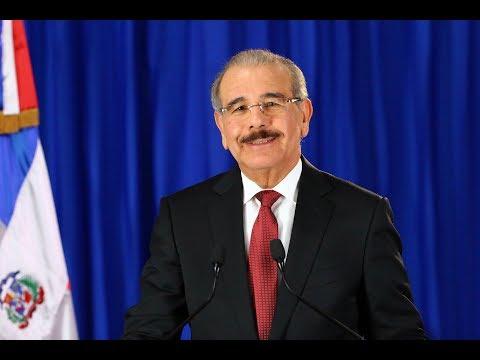 (VÍDEO) Presidente Danilo Medina habla al País