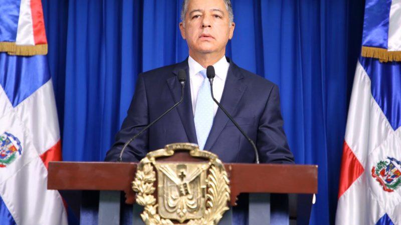 Discurso textual del Ministro de Hacienda Donald Guerrero