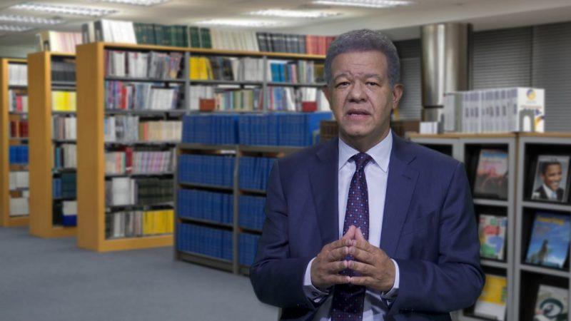 Leonel plantea acciones adicionales compensen a sectores vulnerables por coronavirus