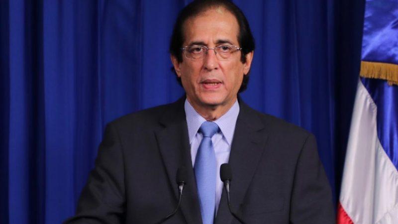 Ministro de la Presidencia Gustavo Montalvo desmiente información falsa sobre apertura de economía