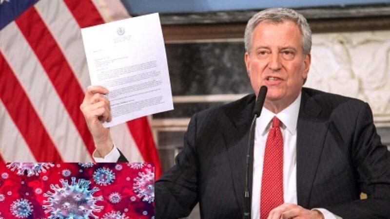 Alcalde NYC anuncia cierre de escuelas y negocios en algunas áreas por rebrote COVID-19