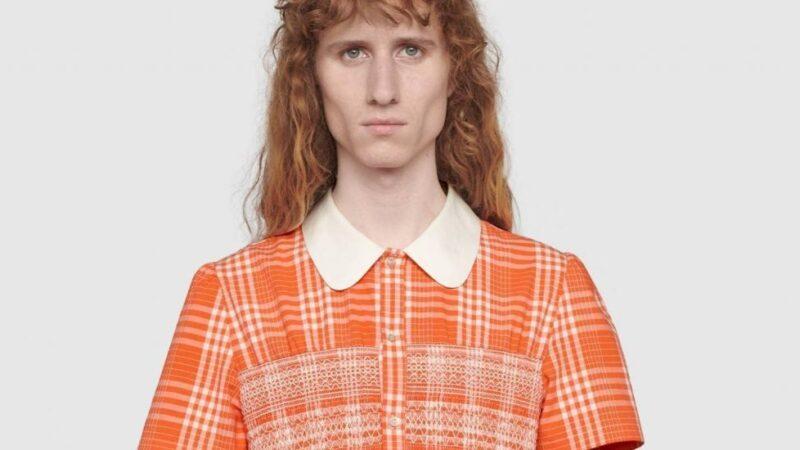 """Gucci lanza un vestido para hombres a fin de romper """"estereotipos tóxicos"""""""