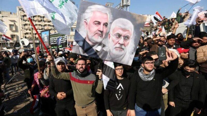 Miles de iraquíes recuerdan a Soleimaní exigiendo la salida de tropas de EEUU