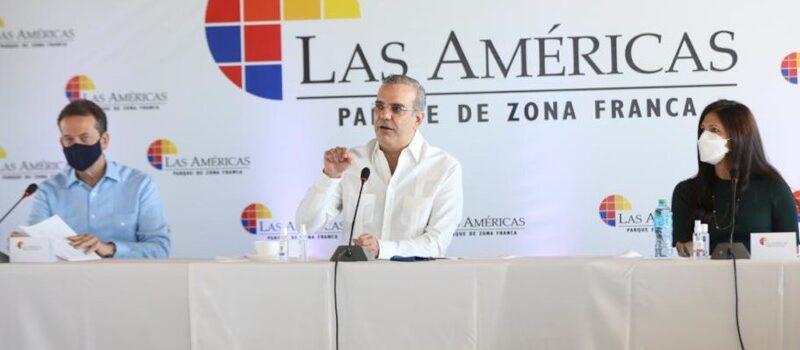 Presidente Luis Abinader respalda proyectos de expansión de ZFLA que generarán 5 mil empleos