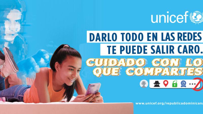UNICEF RD: «57% de los adolescentes entrevistados no se sienten seguros en Internet»