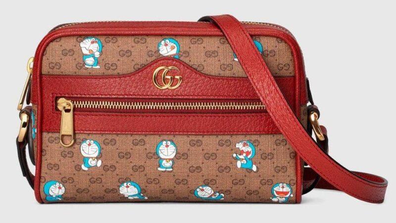 Gucci se une a Doraemon para lanza una colección dedicada a los amantes del anime