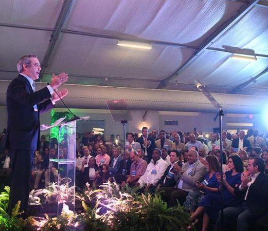 La candidatura de Abinader es apoyada por seis partidos