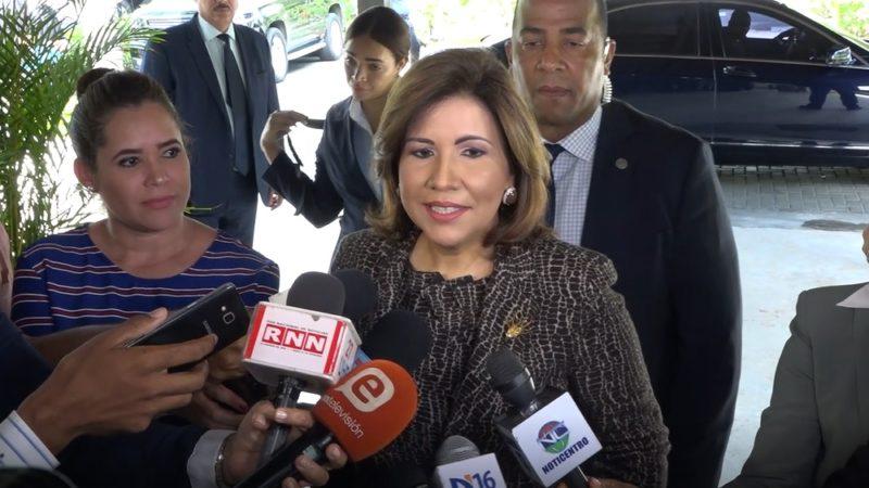 Margarita Cedeño saluda sentencia TSE deja camino libre a Leonel para el 2020