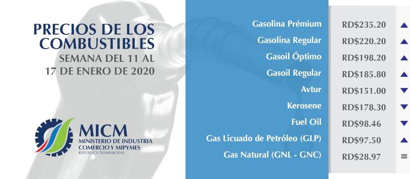 El GASOIL Y LA GASOLINA SUBEN LIGERAMENTE MIENTRAS LOS DEMAS COMBUSIBLES BAJAN