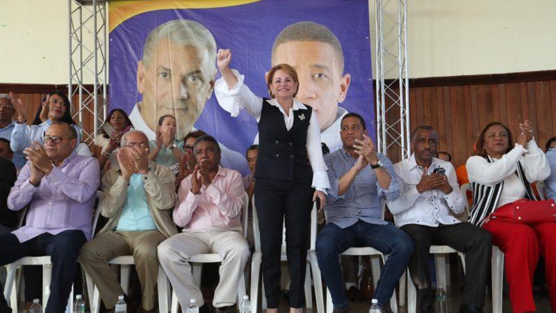 Lucia Medina vaticina triunfo arrollador del PLD en San Juan