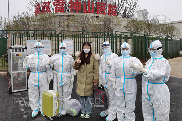 China cura 36.000 pacientes de COVID-19