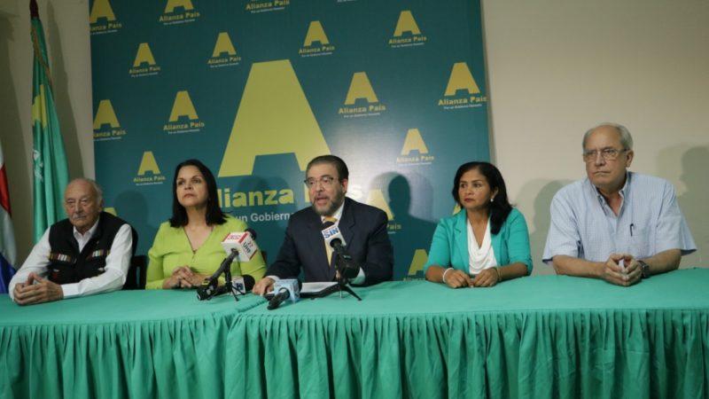 Alianza País afirma es antidemocrático exclusión de Guillermo Moreno del debate