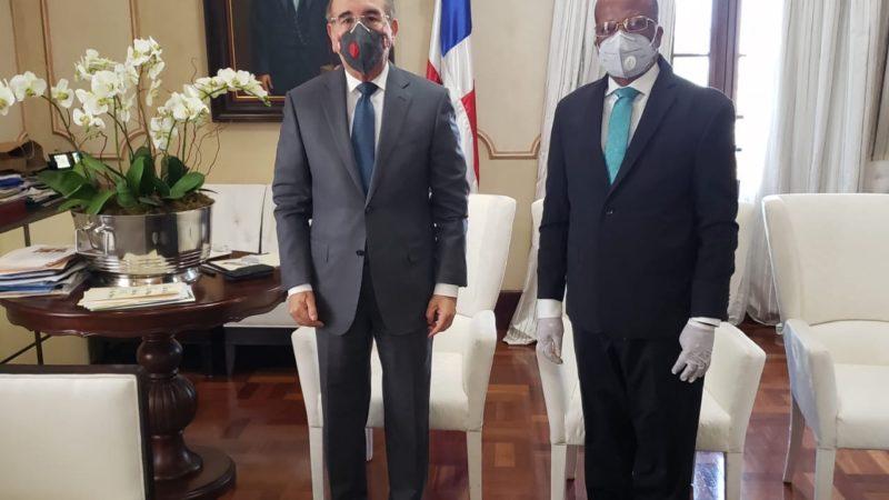 Director de la OMSA se reúne con presidente Medina para tratar entrada en operación del transporte