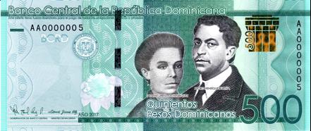 Banco Central informa que a partir de junio circulará un nuevo billete de RD$500.00