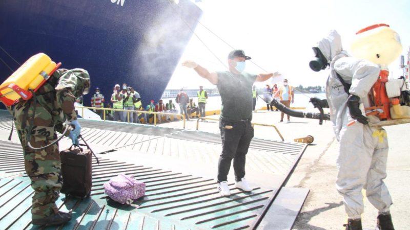 Dominicanos varados en cruceros regresarán este fin de semana; Deberán someterse a un estricto protocolo sanitario de parte del M.S y la (OMS).