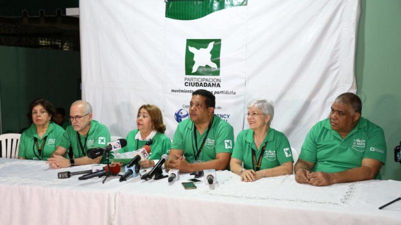 """Participación Ciudadana ve """"enormes desafíos"""" en actual contexto electoral"""