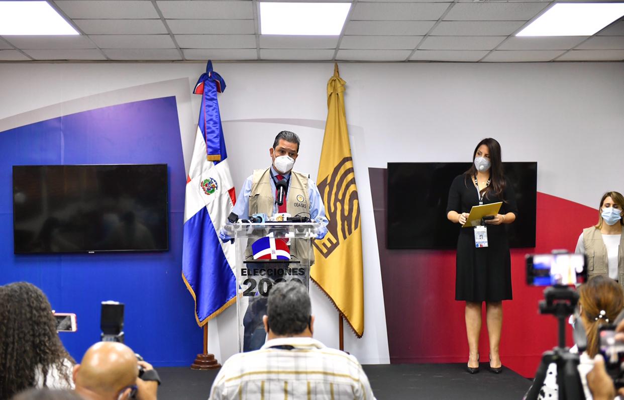 Pleno JCE recibe a Misión de Observación Electoral de OEA para Elecciones del 5 de julio; MOE está integrada por 80 expertos de 19 nacionalidades