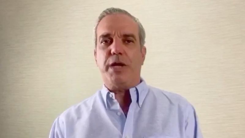 Luis Abinader da positivo al COVID-18