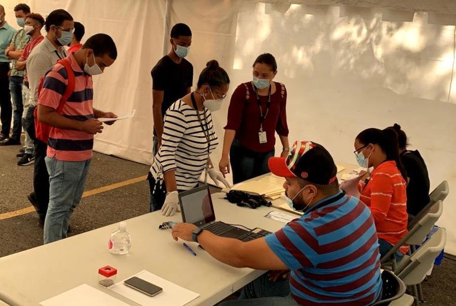 JCE realiza entrega de credenciales a 7,500 técnicos capacitados a nivel nacional para Elecciones del 5 de julio de 2020