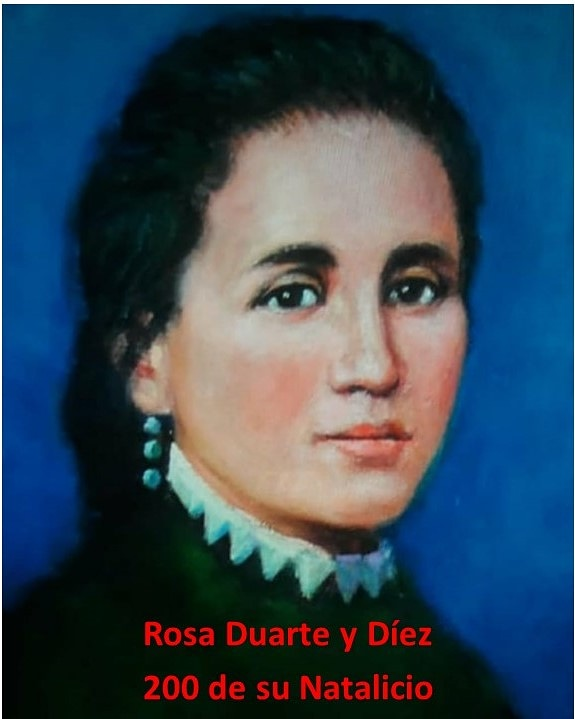 Instituto Duartiano conmemorará bicentenario de natalicio de Rosa Duarte