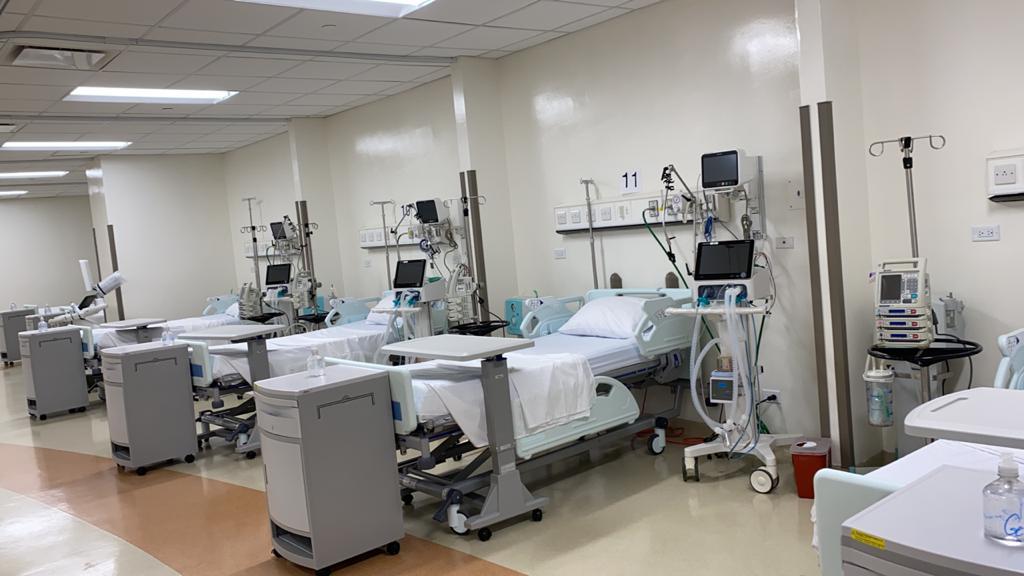 SNS habilita 36 nuevas camas de UCI en Ciudad Sanitaria
