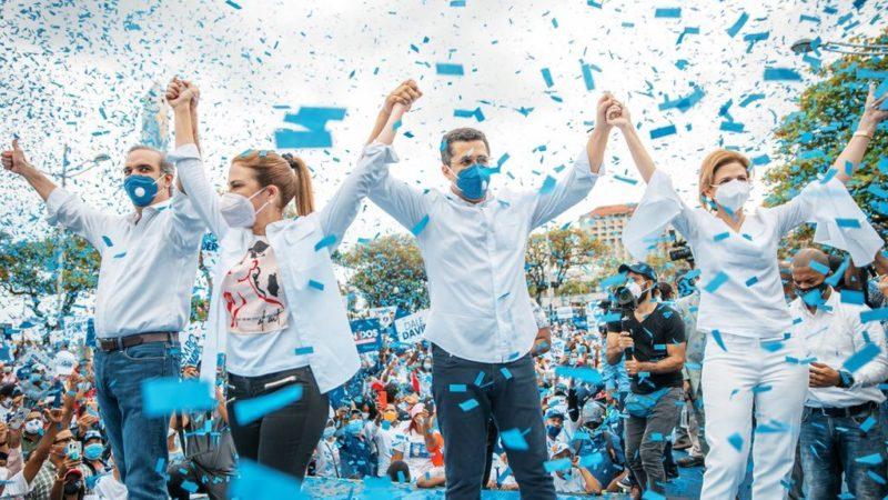 Abinader cierra su campaña augurando el triunfo en primera vuelta