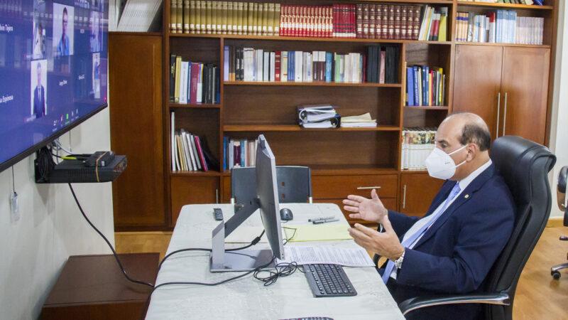 """Presidente JCE participa en Foro Internacional «República Dominicana: Referente electoral en tiempos de COVID-19"""" organizado por COPPPAL e instituciones de México"""