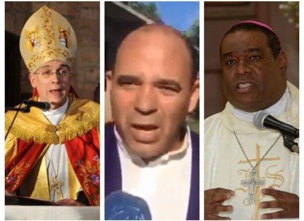 Monseñor Masalles y el obispo Castro Marte repudian policía se vistiera de sacerdote y matara hombre en Cotuí