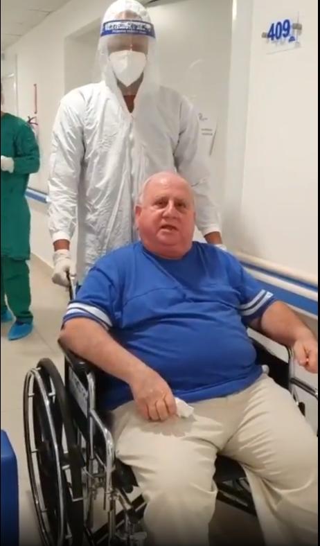 Dan el alta médica al doctor Fadul luego de ser ingresado por COVID-19