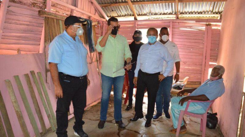 Comisión enviada por Abinader a Hato Mayor hace inventario de daños ocasionados por tormenta