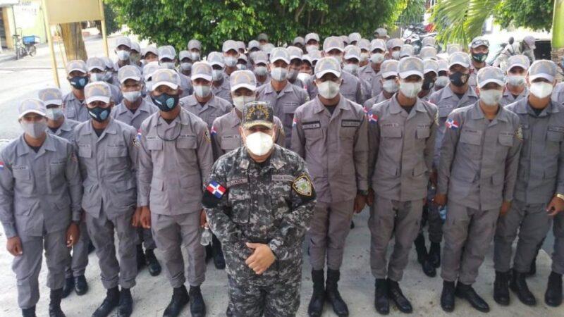 Anuncian llegan 60 agentes policiales a Ocoa para trabajar en 9-1-1