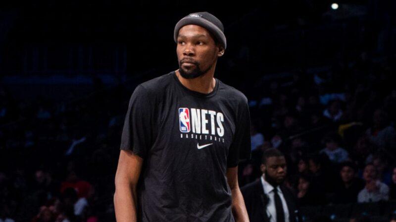 Kevin Durant gana un millón extra sin debutar con los Nets
