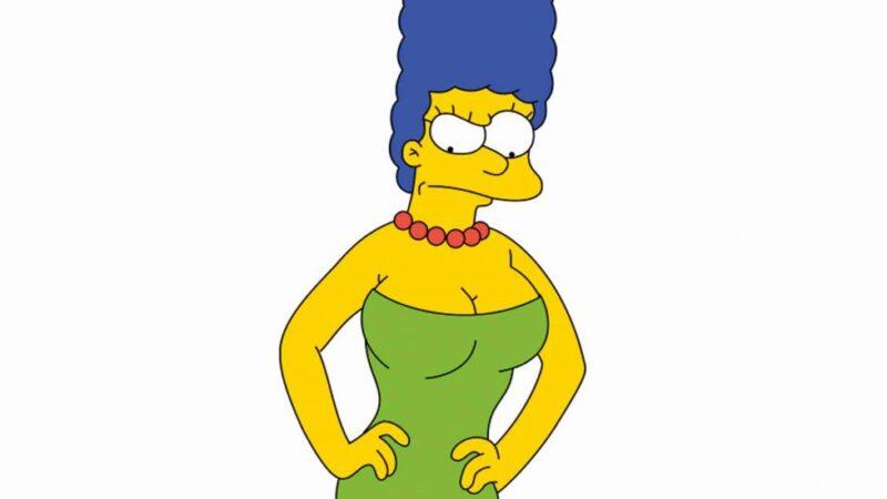 """(VÍDEO) Marge Simpson """"responde"""" al equipo de Trump por compararla con Kamala Harris"""