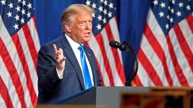 Trump usa los acuerdos de paz para jugar al dominó en el golfo Pérsico