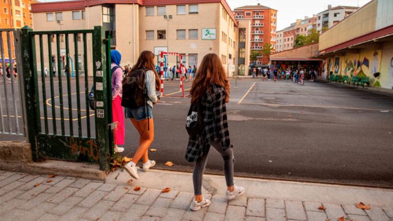 Huelga de estudiantes de tres días para exigir aulas seguras frente al covid