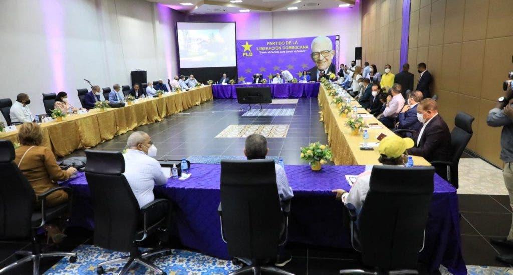 (VIDEO) Comité político PLD continúa organización noveno congreso ordinario