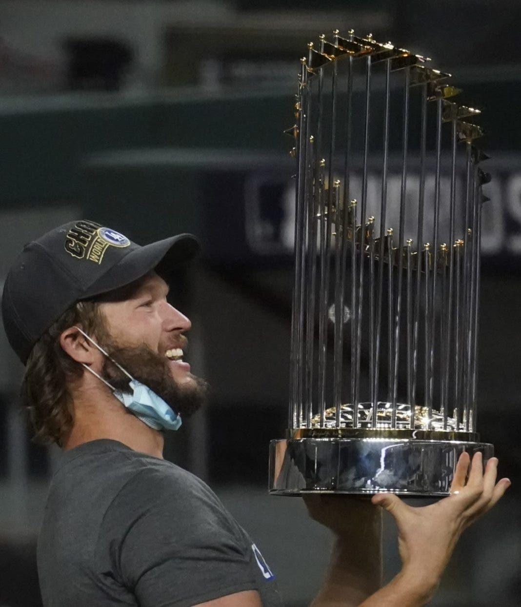 ¡UN ALIVIO! Dodgers finalmente celebraron el campeonato