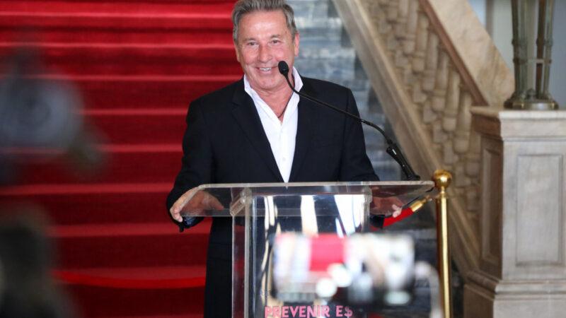 Presidente Luis Abinader recibe a Ricardo Montaner en Palacio Nacional