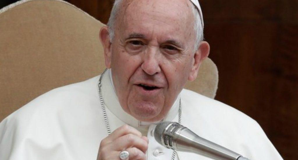 """El papa advierte de la """"catástrofe educativa"""" que ha generado la pandemia"""