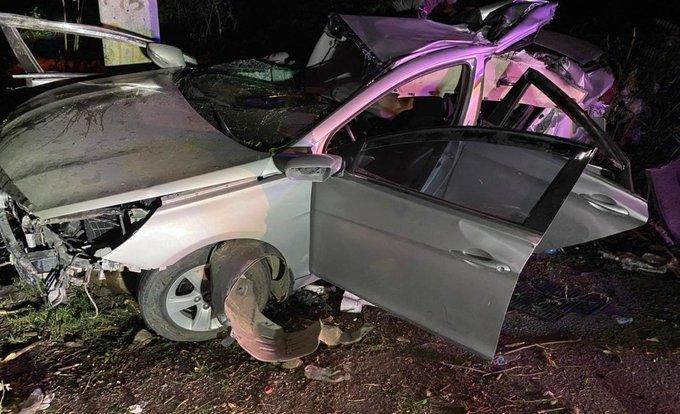 Cuatro muertos tras accidente de tránsito en Baní