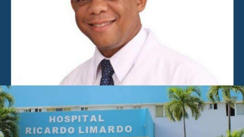 Director del Hospital Ricardo Limardo doctor Carlos Reyes aclara situación de persona indigente que estaba a las afueras del hospital.