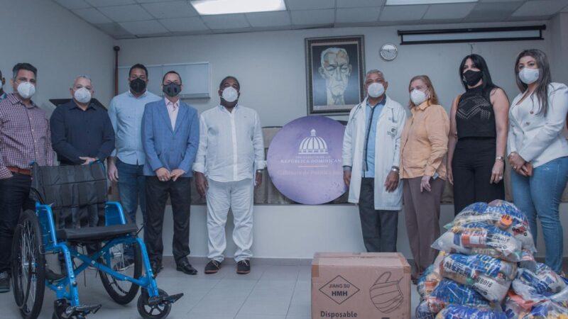 El Gabinete de Política Social despliega operativo de donaciones en Bonao, La Vega y Puerto Plata