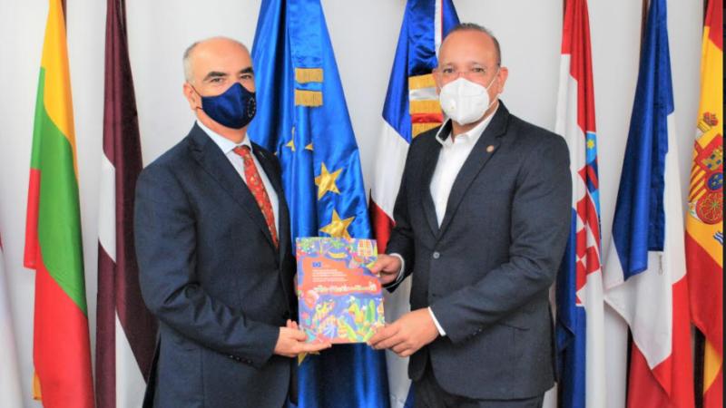 PROINDUSTRIA y Unión Europea discuten planes de cooperación beneficiaria sector industrial