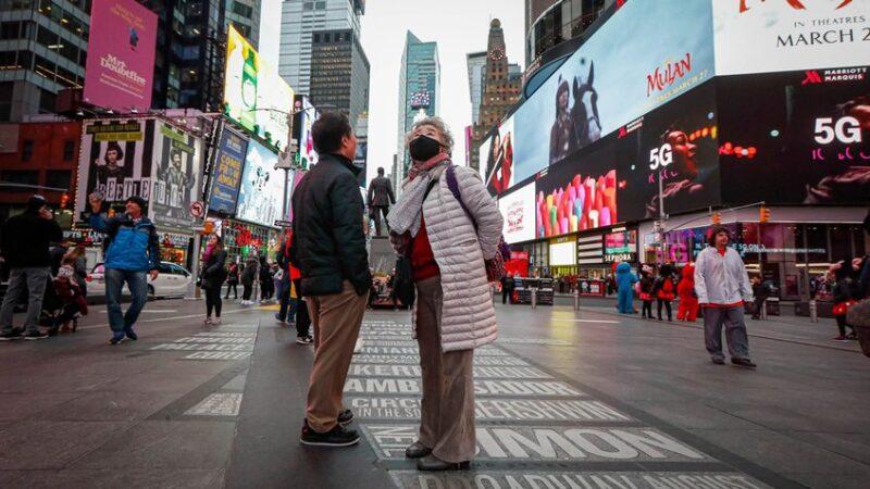 Nueva York busca reconfinar nueve barrios por COVID-19