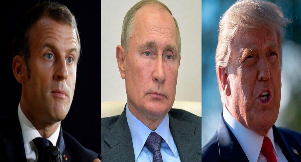 Putin, Trump y Macron piden un inmediato cese el fuego en Nagorno Karabaj
